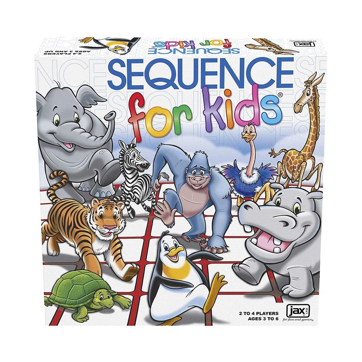 JUEGO DE MESA SQUENCE FOR KIDS