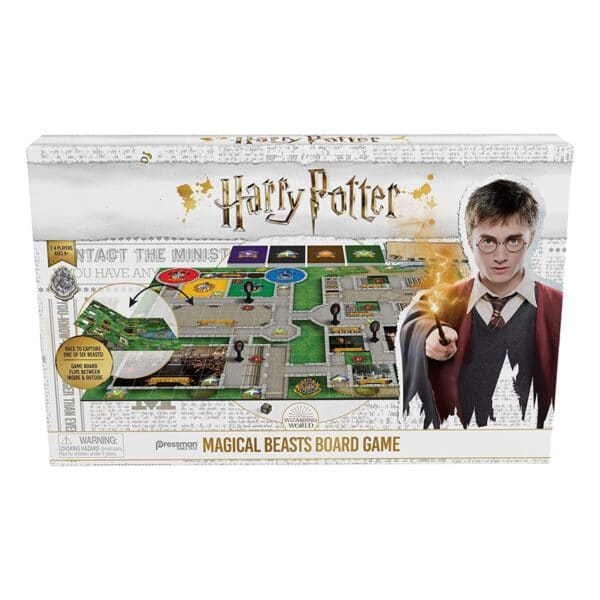 JUEGO MAGICAL BEASTS BOARD GAME HARRY POTTER