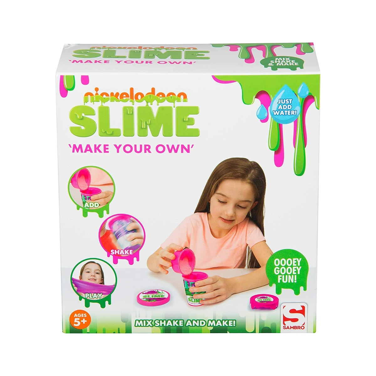 SLIME MAKE YOUR OWN NICKELODEON