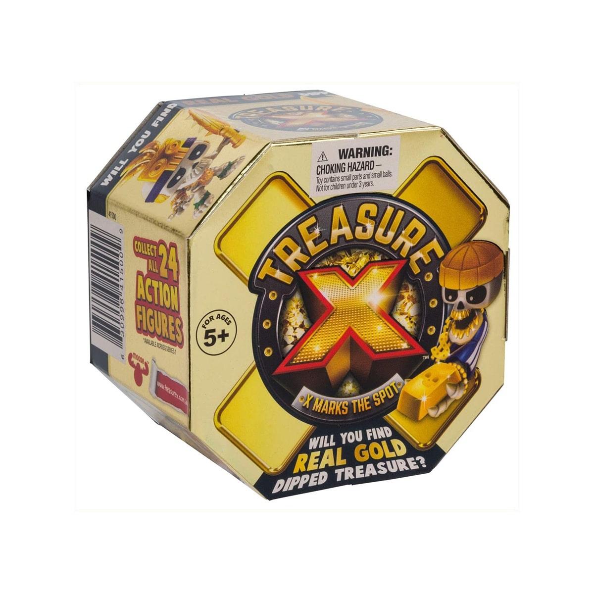 TREASURE X MARKS THE SPOT REAL GOLD
