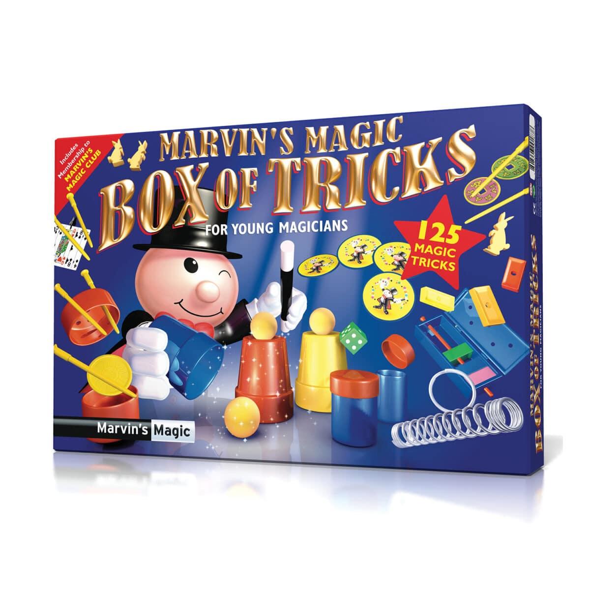 MARVIN S CAJA MAGICA DE 125 TRUCOS
