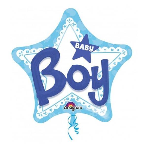 GLOBO  BABY BOY CELESTE 81CMX81CM