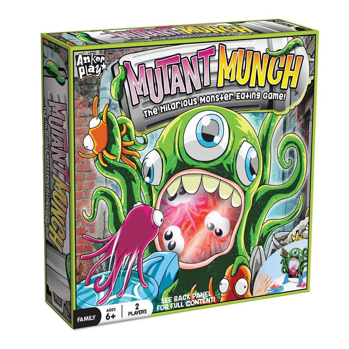 JUEGO  MUTAN  MUNCH  THE  HILARIOUS  MONTER  EATING  GAME