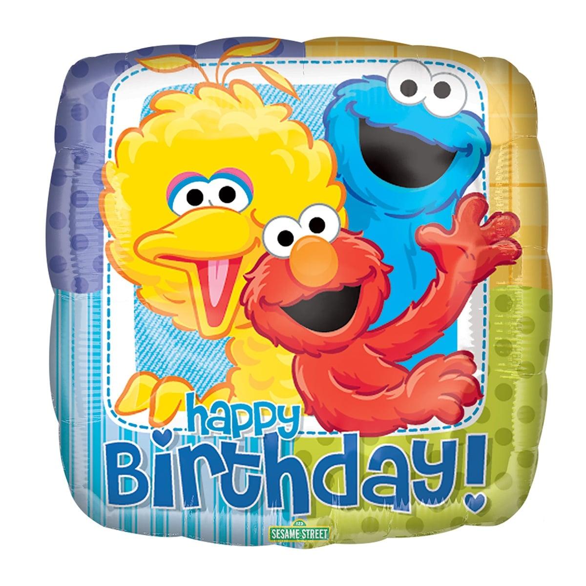 PLAZA SESAMO HAPPY BIRTHDAY